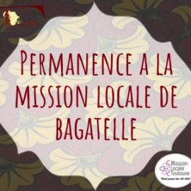 Permanences à Bagatelle