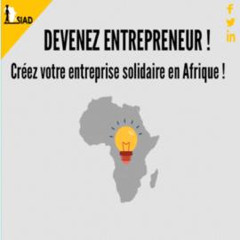 Vous avez une idée de projet pour l'Afrique ? Le SIAD recrute !