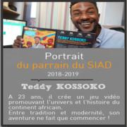 Portrait du parrain du SIAD 2018 – 2019