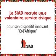 Le SIAD recrute un volontaire service civique !