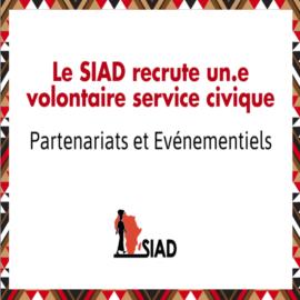 Le SIAD recrute un·e volontaire service civique !