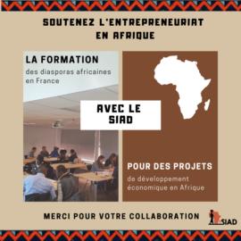 Aidez-nous à soutenir l'entreprenariat solidaire en Afrique