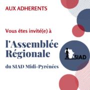Assemblée Régionale du SIAD Midi-Pyrénées