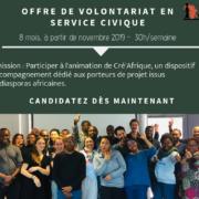 Postulez à l'offre de mission – volontariat service civique