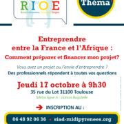 Café Thema «Entreprendre entre la France et l'Afrique»
