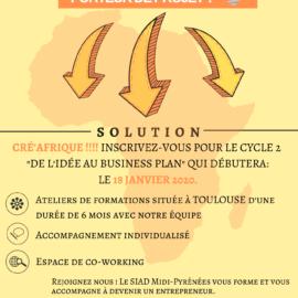 Lancement Cycle 2 Cré'Afrique