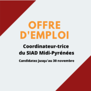 Offre d'emploi : Coordinateur-trice du SIAD Midi-Pyrénées